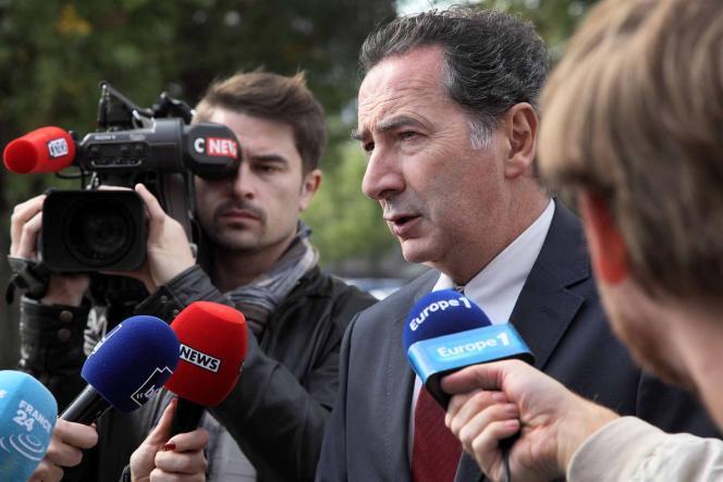 François Morel est Michel Vidal, chef du parti Debout le peuple,dans «Baron noir», dont la 3e saison sera diffusée le 10 février sur Canal+.