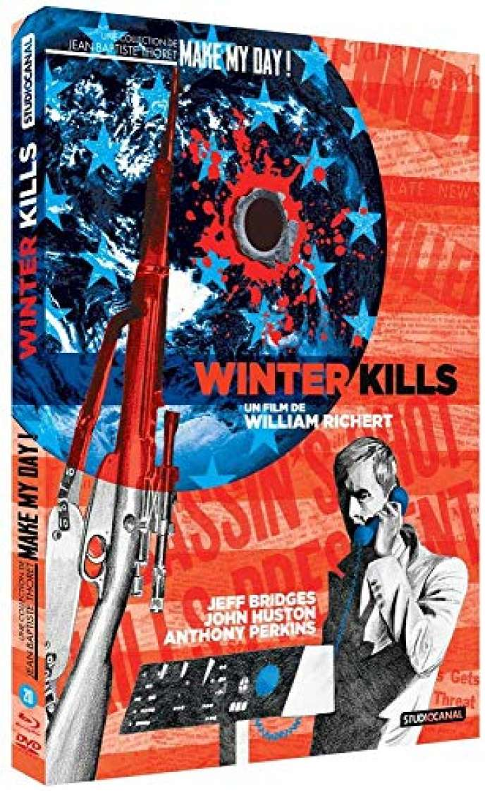 « Winter Kills », film américain de William Richert (1979), avec Jeff Bridges, John Huston, Anthony Perkins, Elizabeth Taylor (1 h 37). 1 DVD Blu-ray, Studio Canal, 19,99 €.