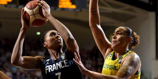 Les basketteuses françaises battent le Brésil et se qualifient pour les Jeux olympiques de Tokyo