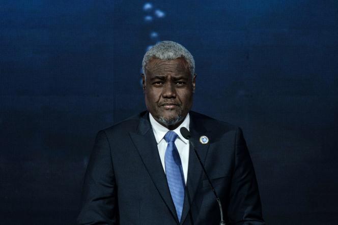 Le président de la Commission de l'Union africaine, Moussa Faki Mahamat, à Nairobi, au Kenya, en novembre 2018.