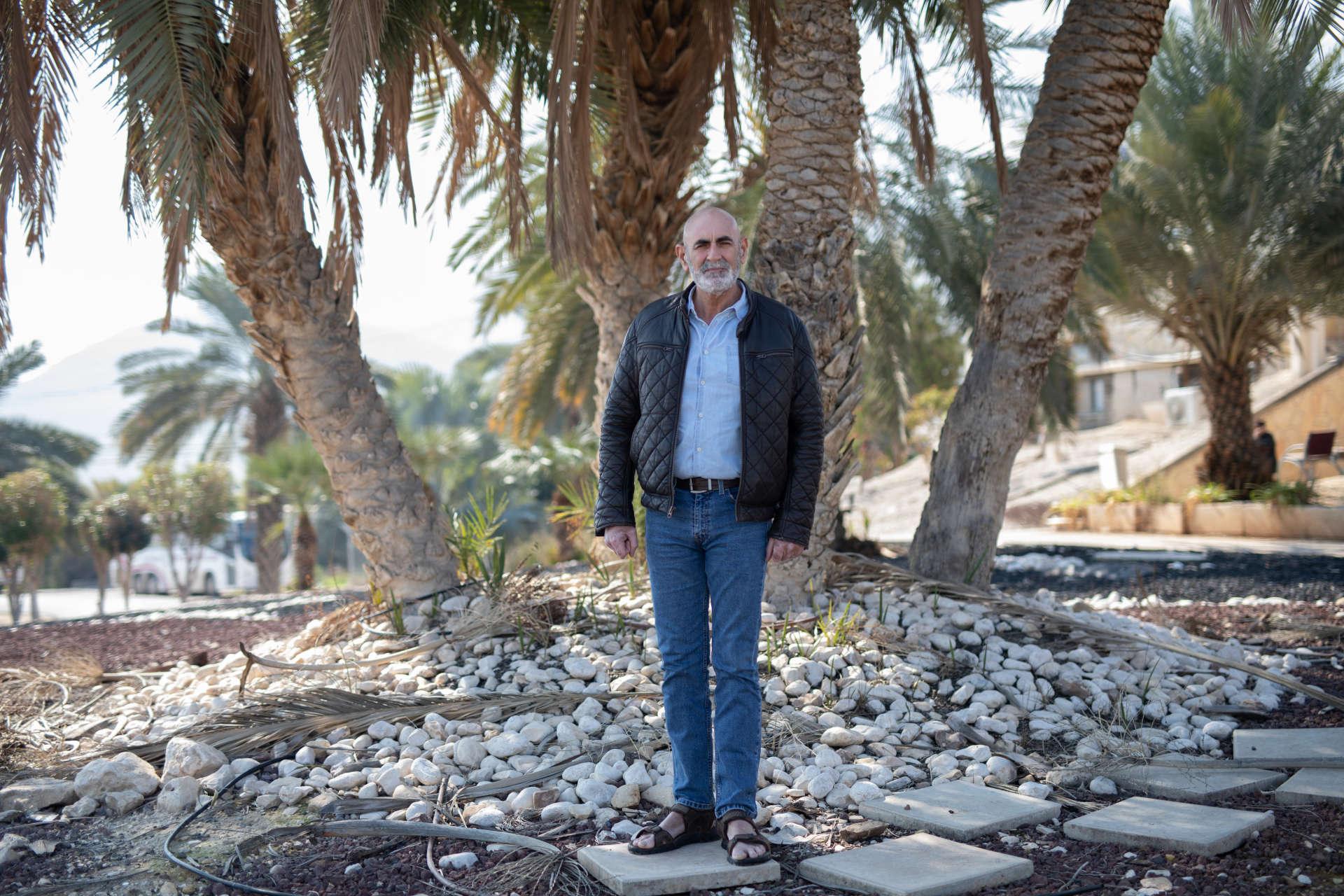 Le représentant des colonies israéliennes de Cisjordanie, David Elhayani, le 4 février 2020.