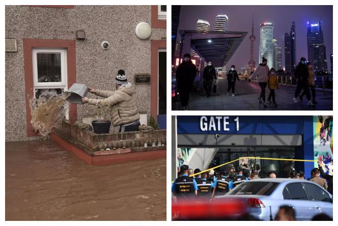 Coronavirus, tempête Ciara, attaque en Thaïlande... les cinq infos à retenir du week-end des samedi 8 et dimanche 9 février.