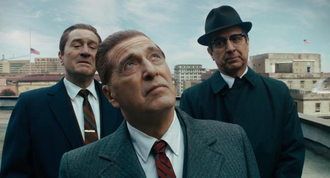 Robert De Niro, Al Pacino et Ray Romano dans le film «The Irishman», diffusé sur Netflix.