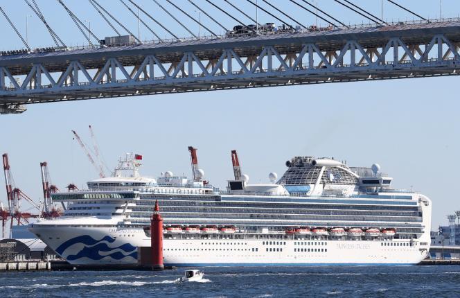 Quelque 3 700 personnes sont confinées à bord du paquebot «Diamond Princess», au Japon, où le nombre de personnes contaminées continue d'augmenter, passant samedi à 64 cas.