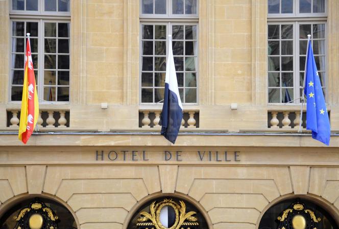 Hôtel de ville de Metz, en novembre 2013.