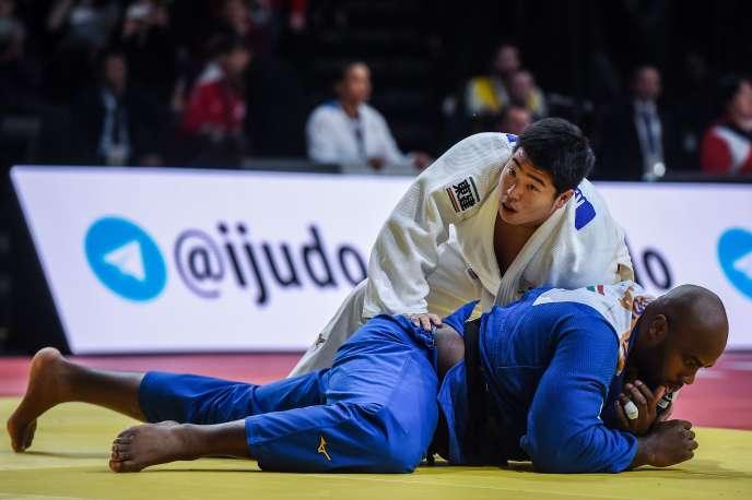 Teddy Riner s'est incliné face à Kokoro Kageura, le 9 février, à Paris. Une première depuis 9 ans.