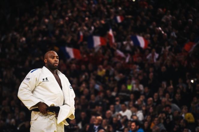 Teddy Riner au tournoi de Paris, le 9 février.