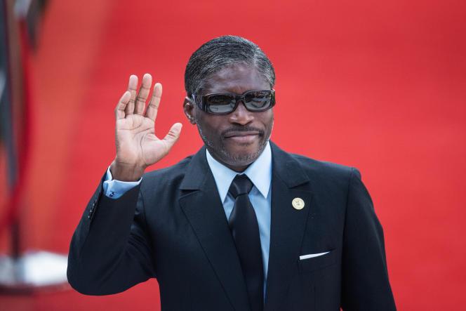 Le vice-président de Guinée équatoriale, Teodorin Obiang, le 25 mai 2019, à Pretoria.