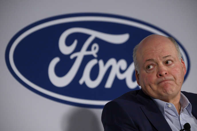 Jim Hackett, PDG de Ford, le 12 juillet 2019 à New York.