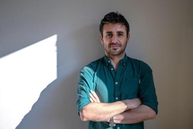 Le cinéaste kurde iranien Diako Yazdani.
