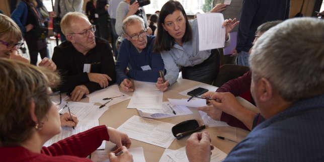 Les 150citoyens de la convention pour le climat esquissent leur vision de la France en2030