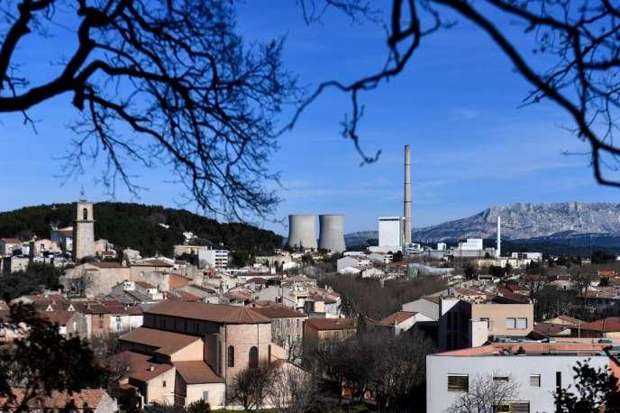 Gardanne (Bouches-du-Rhône), en janvier 2019.