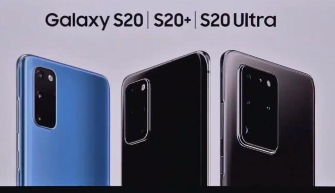 Le S20 sera disponible dans trois tailles.