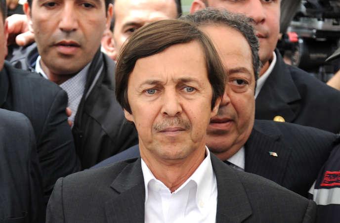 Saïd Bouteflika, à Alger, en mai 2012.