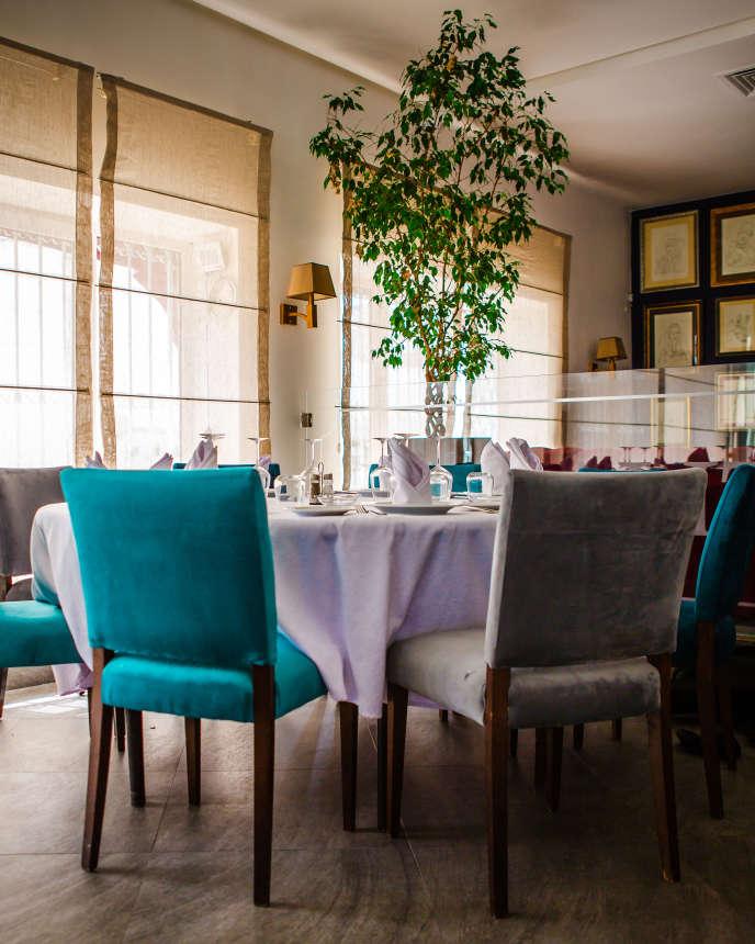 Nhà hàng La Galite ở La Goulette.