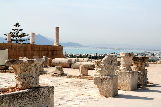 Les thermes d'Antonin, à Carthage.
