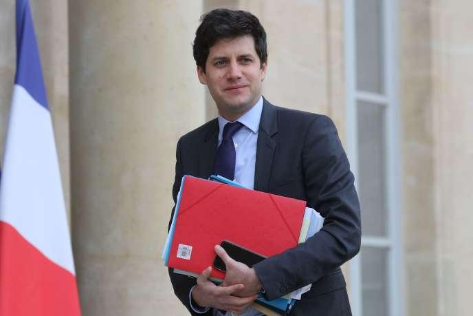 Le ministre chargé de la ville et du logement, Julien Denormandie, le 15 janvier à Paris.