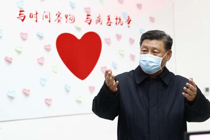 Xi Jinping, à Pékin, le 11 février.