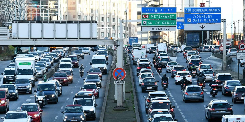 En Ile-de-France, la coupure de l'A13 depuis dimanche entraîne des embouteillages monstres
