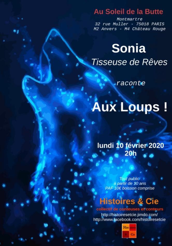 Avec son spectacle« Aux loups ! », la conteuse Sonia Tissot cherche à s'éloigner des clichés véhiculés par certaines versions de contes traditionnels.