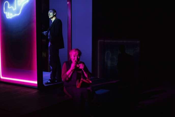 Alain Fromager et Annie Mercier dans« L'Eden Cinéma», mise en scène par Christine Letailleur.