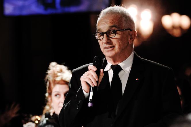 Le producteur Alain Terzian, lors des Révélations, au Petit Palais à Paris, le 13janvier.