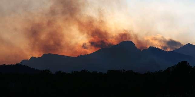 Incendies en Corse: des renforts aériens attendus, le confinement de deux villages levé