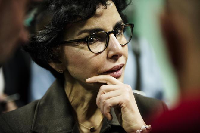 Rachida Dati a fustigé vendredi21 février «l'idéologie laxiste de MmeHidalgo et le monde merveilleux de Mme (Agnès) Buzyn», candidate LRM.