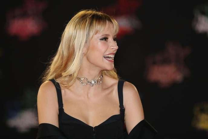La chanteuse Angèle lors de la cérémonie des NRJ Music Awards à Cannes, en novembre 2019.