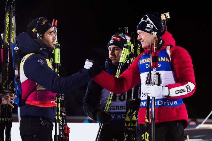 Avant les Championnats du monde de biathlon, Martin Fourcade mène la danse au classement général de la saison régulière (601 points), devant son compatriote Quentin Fillon Maillet (532) et le Norvégien Johannes Boe (482).