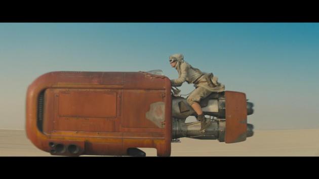 Le vaisseau des sables de Rey, l'héroïne de la dernière trilogie «StarWars»,a été créé grâce à l'informatique par une entreprise spécialisée dans les jeux vidéo.