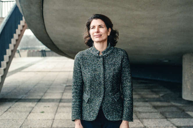 <p>Corinne Hershkovitch, à Berlin, en Allemagne, le 22 janvier.</p>