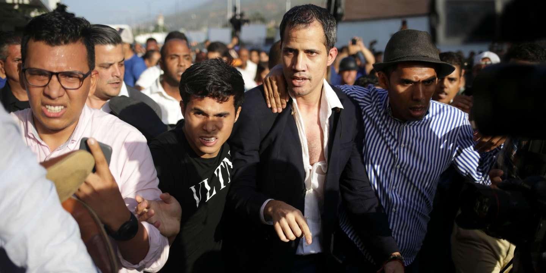 Juan Guaido de retour au Venezuela