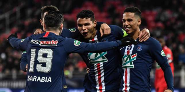 Coupe de France: le PSG écrase Dijon et rejoint les demi-finales