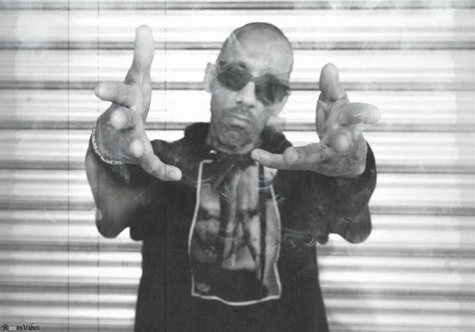 Big Red,ex-membre du duo Raggasonic, à Paris en 2019.