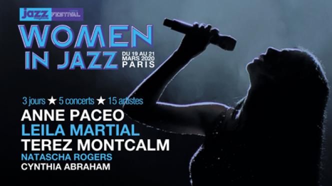 Affiche du festival Women in Jazz.