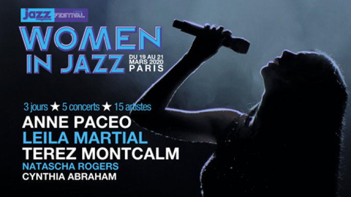 Affiche du festival Women in Jazz.