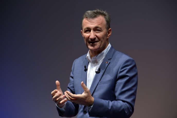 Bernard Charlès, le directeur général de Dassault Systèmes, en novembre 2015.