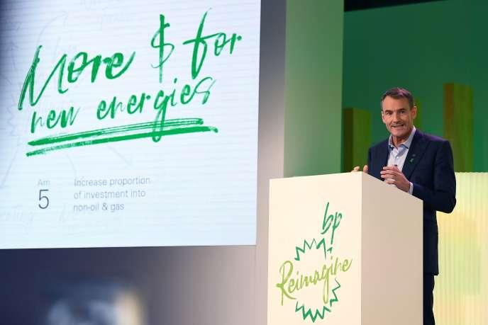 Le patron de BP, Bernard Looney, à Londres, mercredi 12 février.