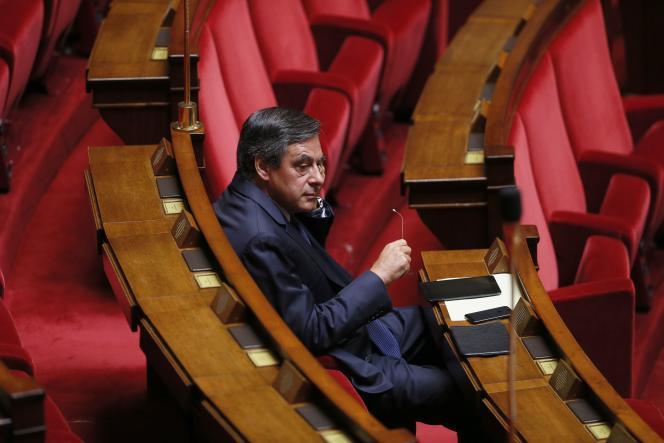 François Fillon à l'Assemblée nationale, le 4 septembre 2013.