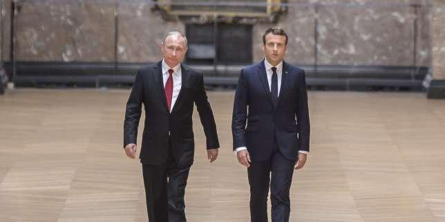 La campagne russe d'Emmanuel Macron