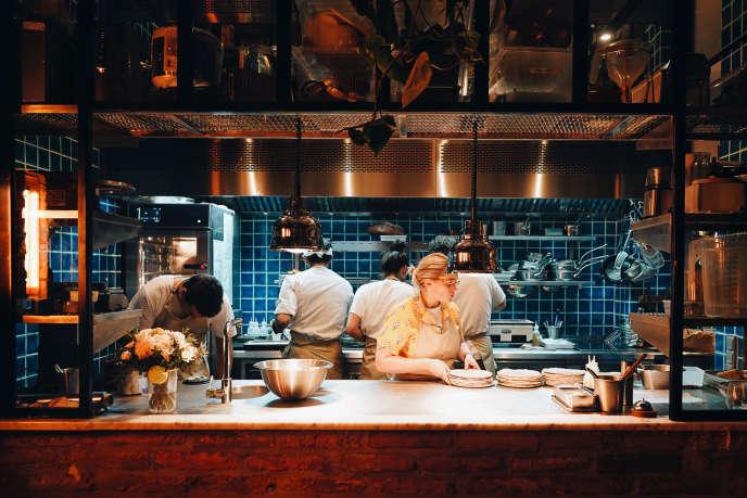Le restaurant Datsha Underground, à Paris.