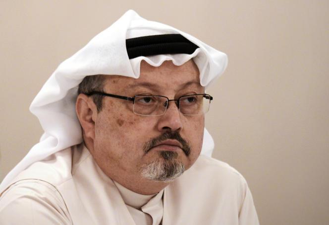 Le journaliste saoudien Jamal Khashoggi, le 15 décembre 2014, à Manama (Bahreïn).