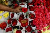 Les roses de la Saint-Valentin, cadeau empoisonné pour la planète