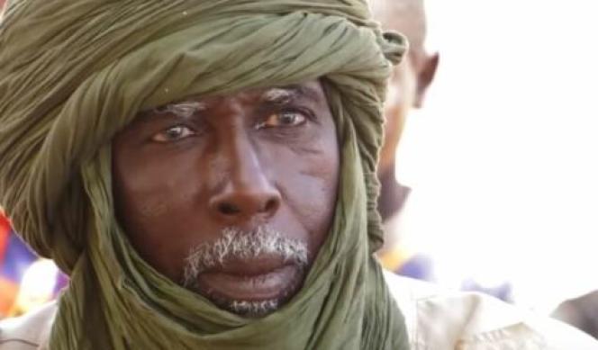 Sadou Yehia tel qu'il est apparu dans le reportage de France 24, le 13 janvier (capture d'écran).