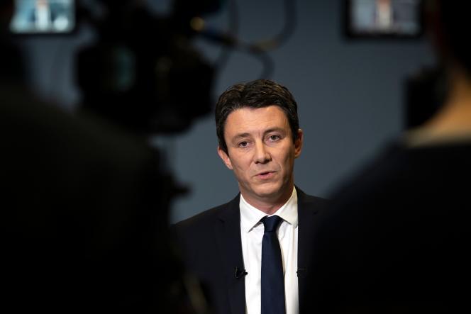 Benjamin Griveaux, à Paris, en février 2020.