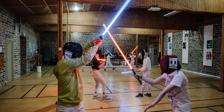 Cours de sabre laser pour apprentis Jedi