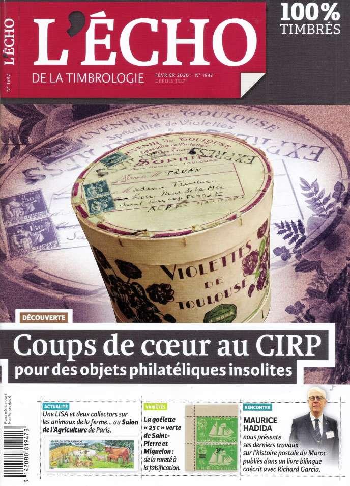 « L'Echo de la timbrologie », 76 pages, 5,50 euros. En vente par correspondance ou par abonnement auprès de l'éditeur, Yvert et Tellier à Amiens (Somme).