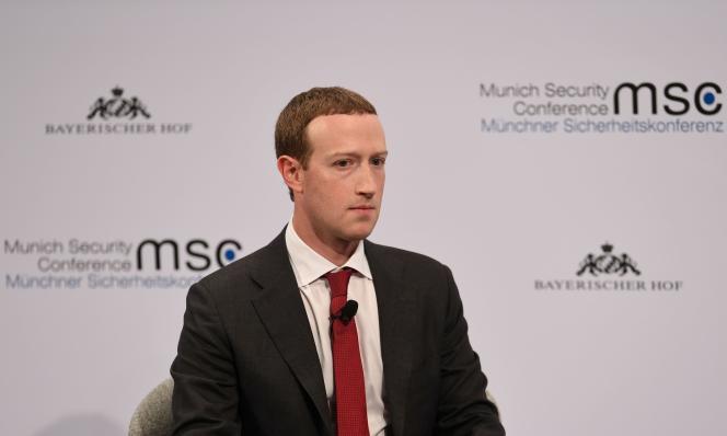 Mark Zuckerberg à Munich, le 15 février.