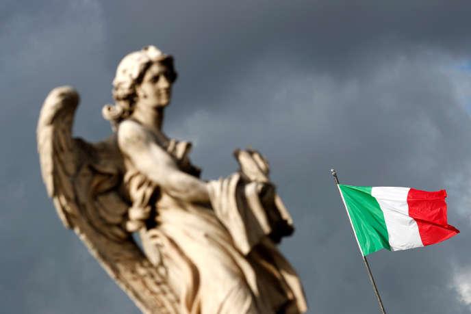 A Rome, le 28 novembre 2019. La Commission européenne a révisé à la baisse, le 13 février, ses prévisions de croissance pour l'Italie en2020, tablant désormais sur une hausse du produit intérieur brut de seulement 0,3%